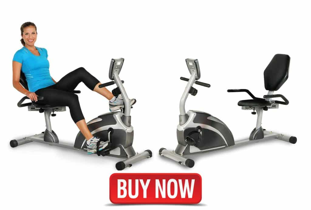 900XL Recumbent Exercise Bike with Pulse