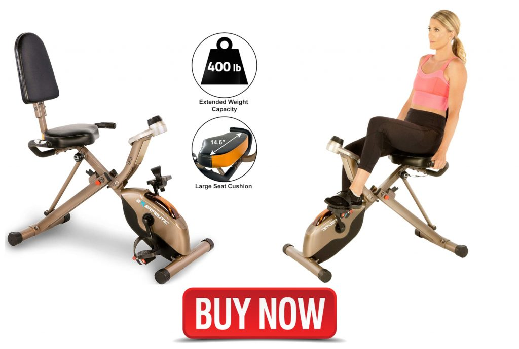Exerpeutic Gold 525XLR Folding Recumbent