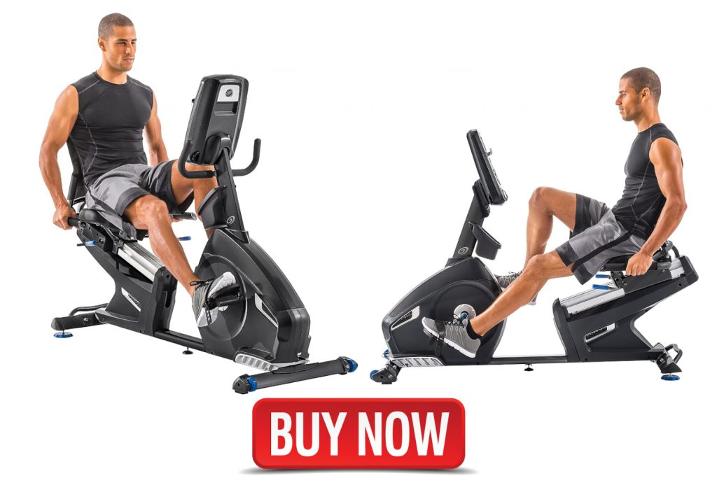 Nautilus commercial Recumbent Bike