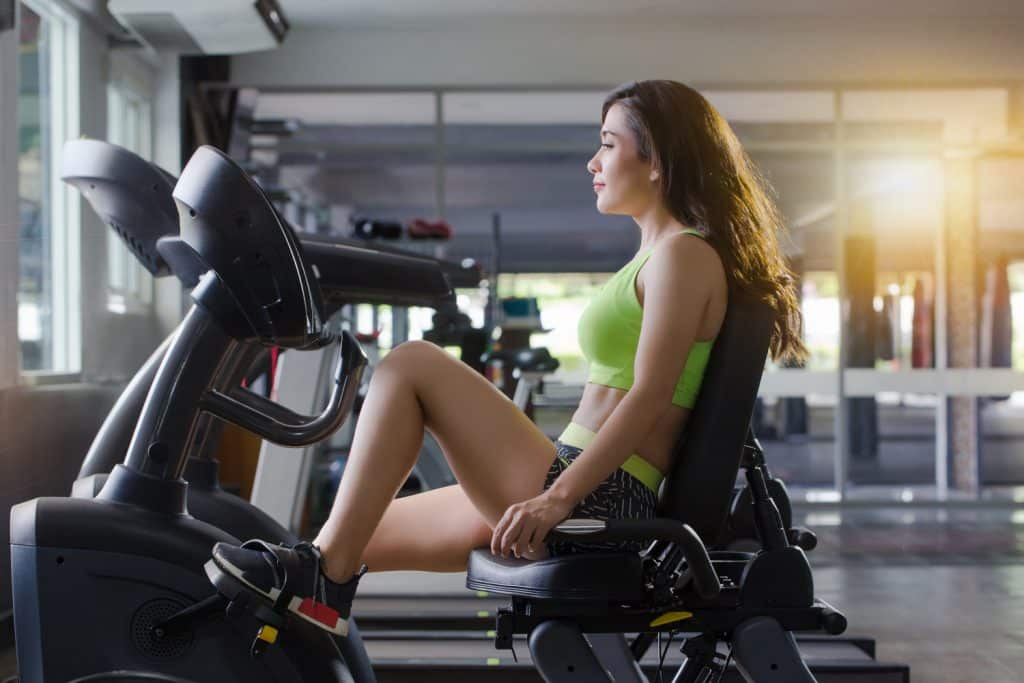 Recumbent exercise bike benefits