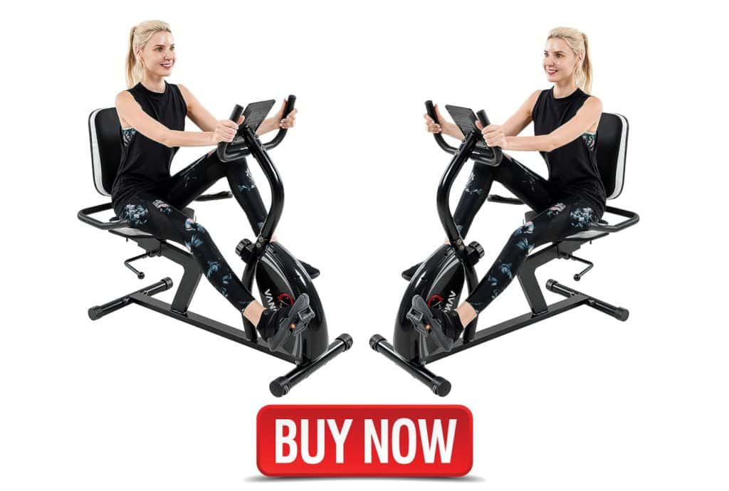 Vanswe Recumbent Exercise Bike