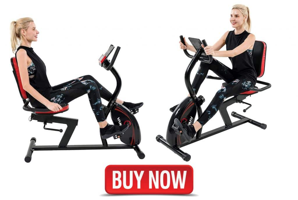 Vanswe Recumbent Exercise Bike for Home