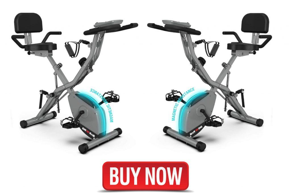 best recumbent exercise bike witharm workout