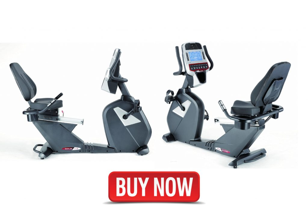 commercial recumbent exercise bike