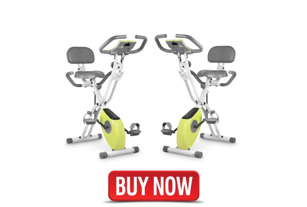 foldable recumbent exercise bike