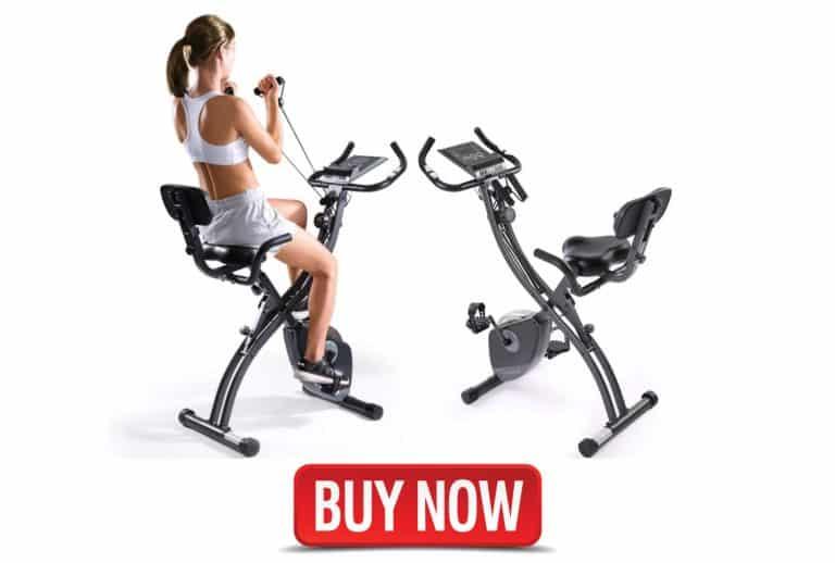 recumbent bike with strength training