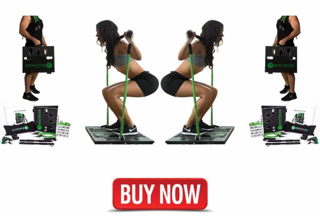 Bodyboss 2.0 full portable home gym workout
