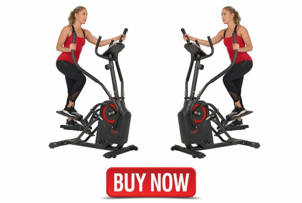 Sunny Health and fitness elliptical cardio cross trainer machine