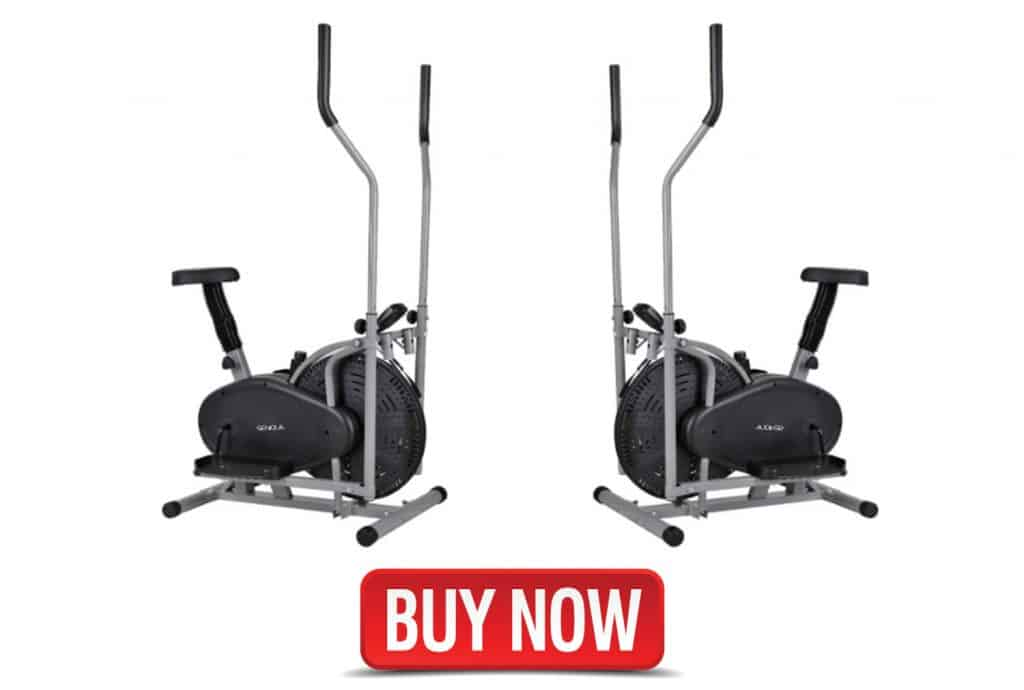 Flex HQ Elliptical Cross Trainer Machine and Exercise Bike 2 in 1, 2 in 1 exercise bike