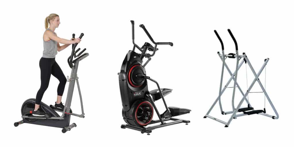 elliptical vs glider vs max trainer