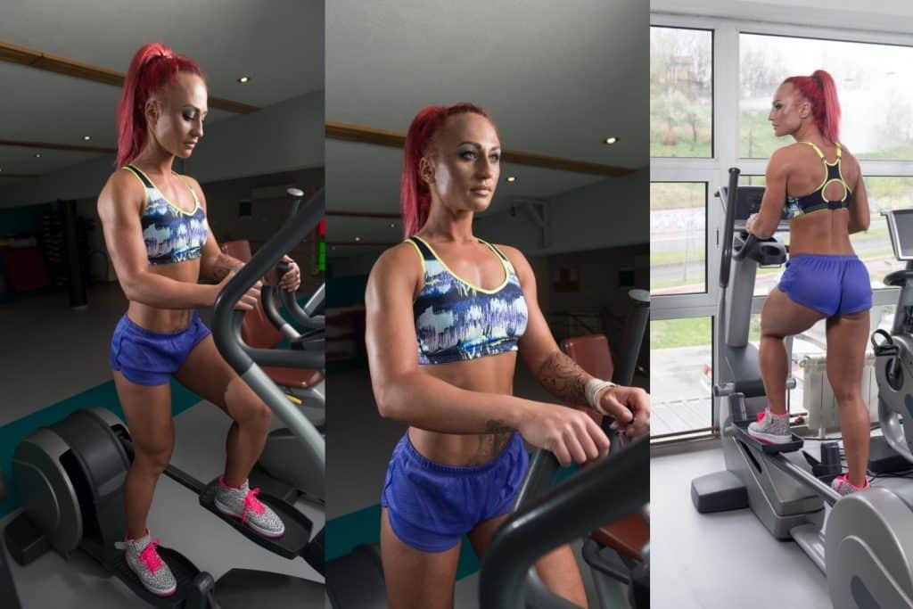 workout on elliptical
