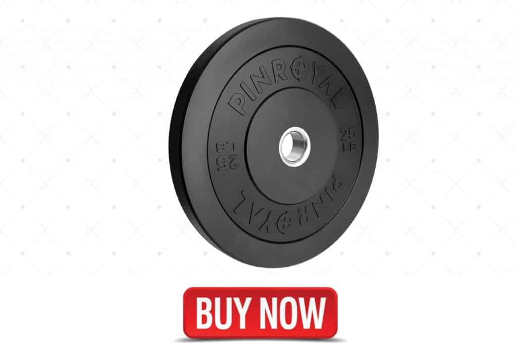 Pin Royal Bumper Plate for home gym