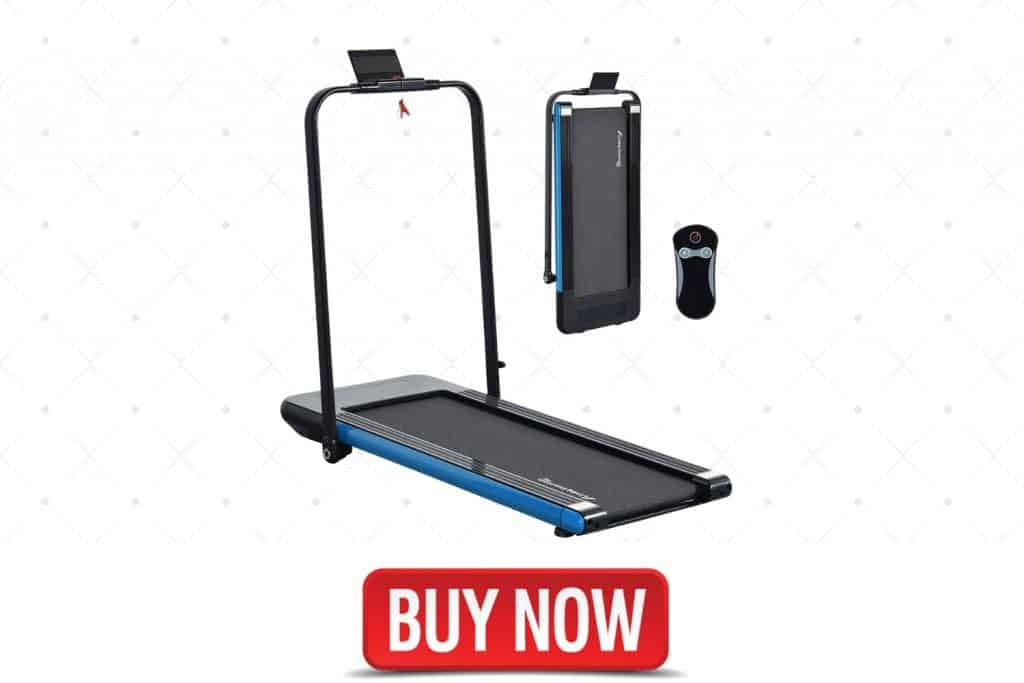 LINKLIFE Willy 2 in 1 Folding Treadmill, best home gym workout treadmill