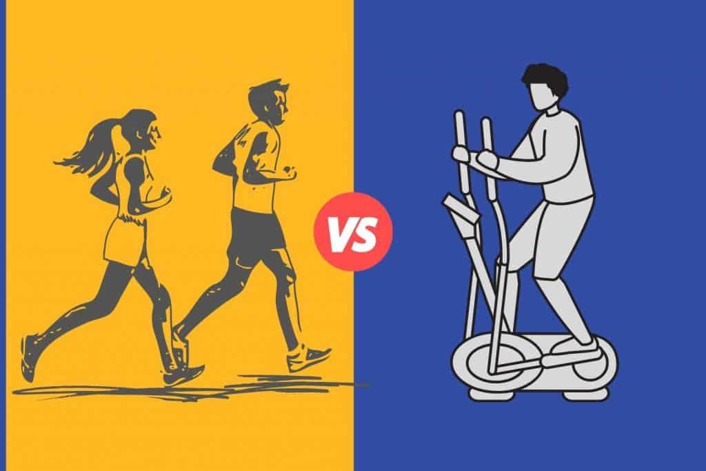 elliptical vs running