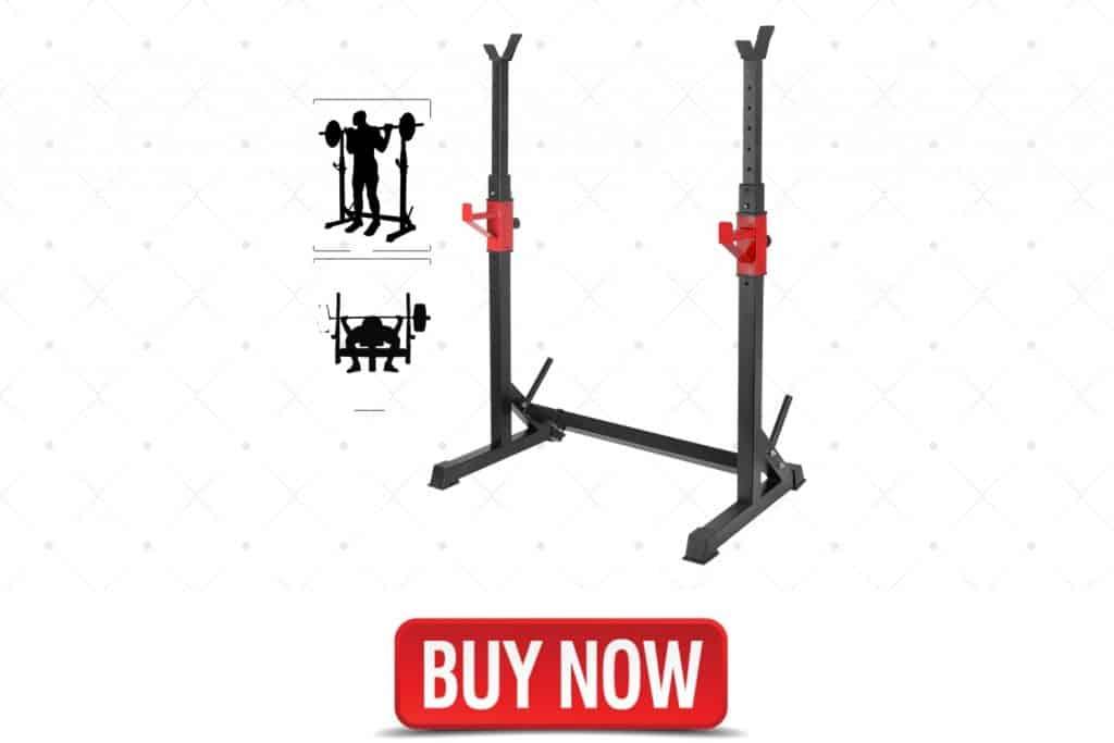 YOLIYOQU Adjustable Squat Rack