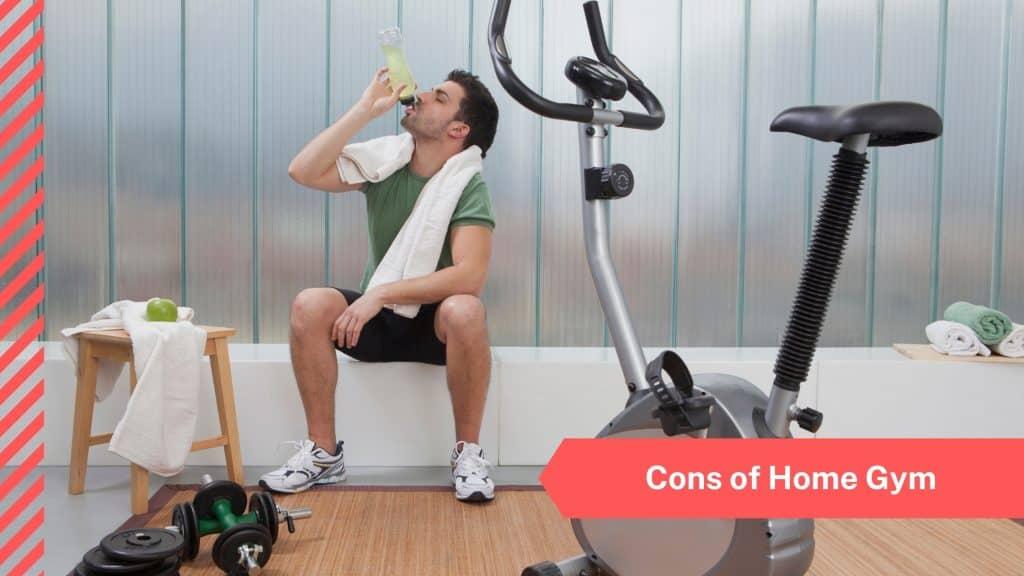 cons of home gym