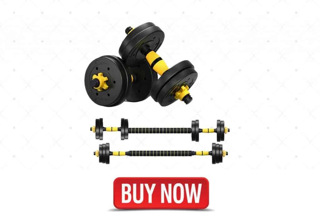 DOUBLX Adjustable Dumbbells Set