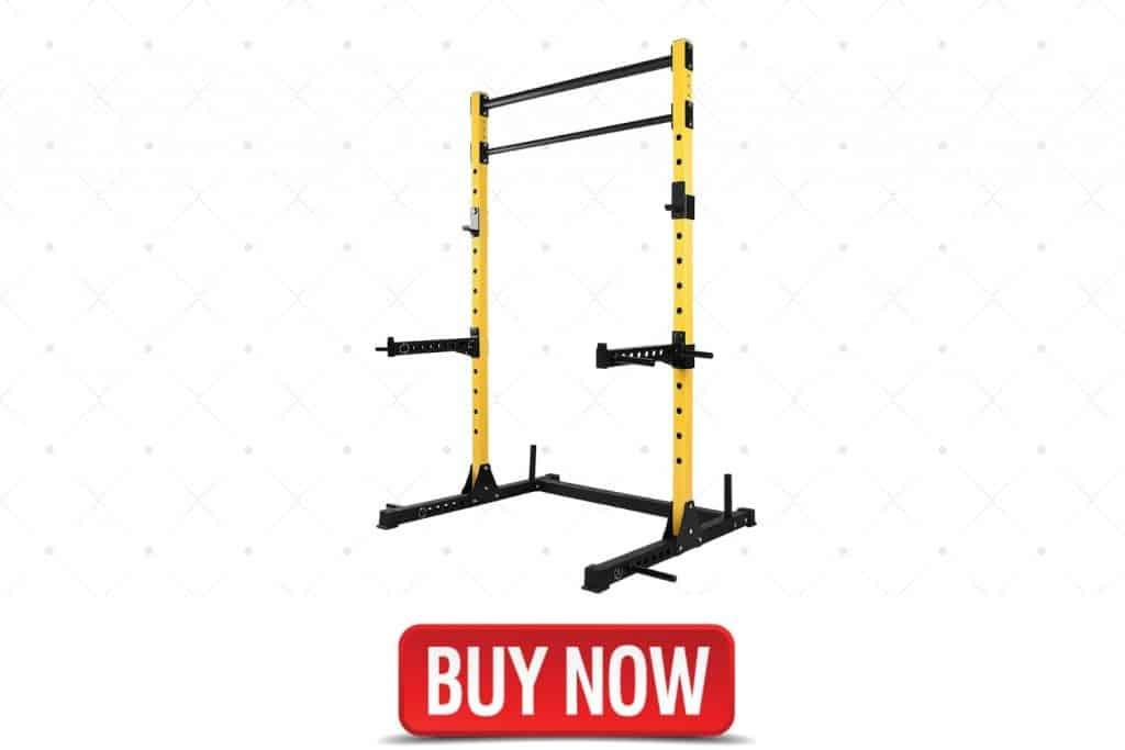 HulkFit Multi-Functional Adjustable Squat Rack