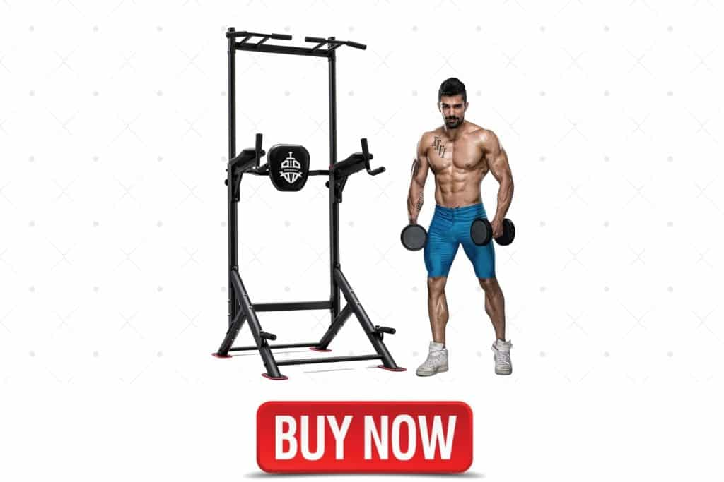 Sportsroyals Power Tower Pull Up Dip Station