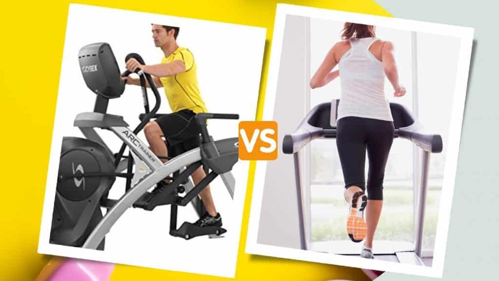 Arc Trainer vs Treadmill
