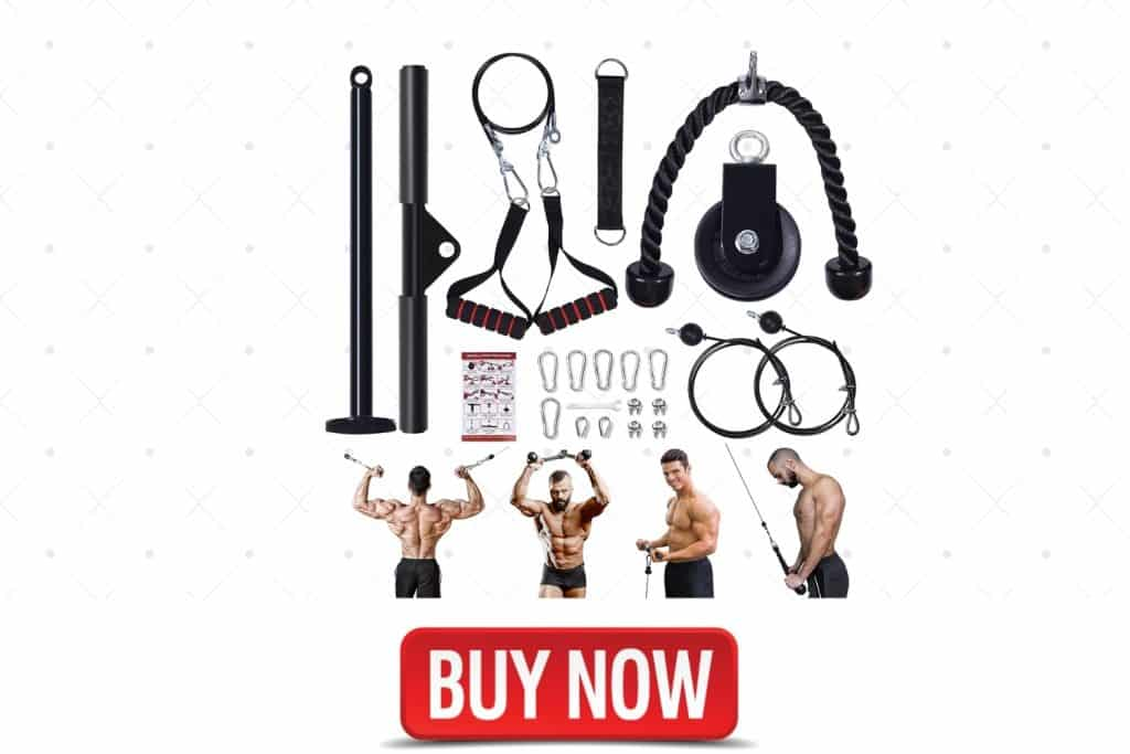 Nubical 4 in 1 Cable Pulley System Gym
