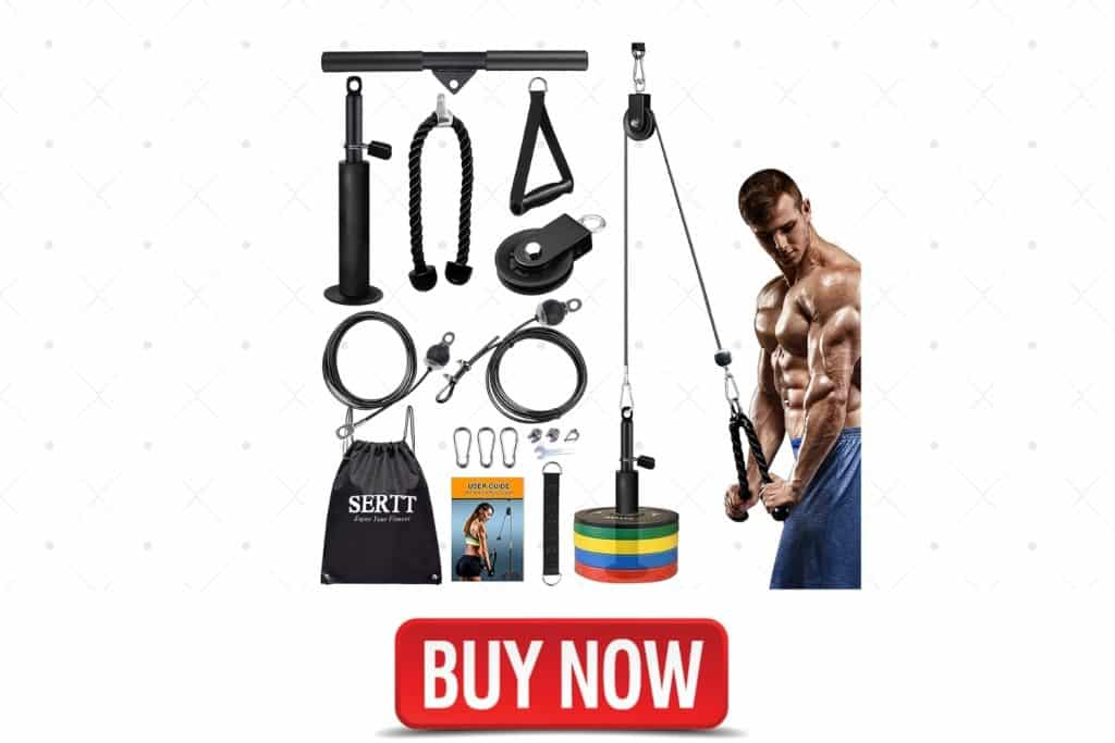 SERTT LAT and Lift Pulley System Gym