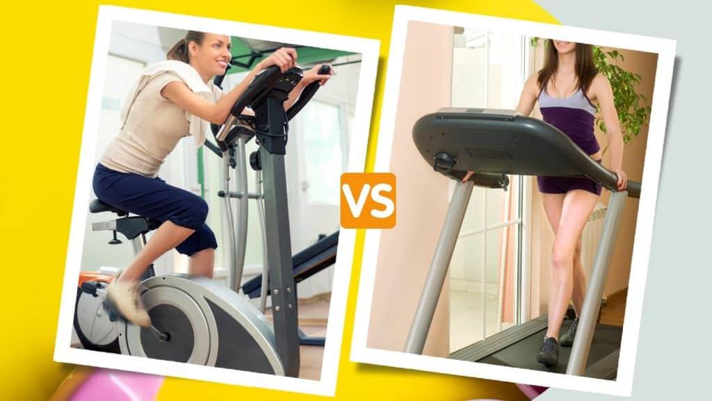 exercise bike vs treadmill